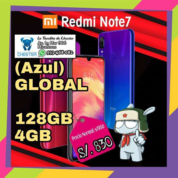 Xiaomi Redmi Note 7 128gb Azul