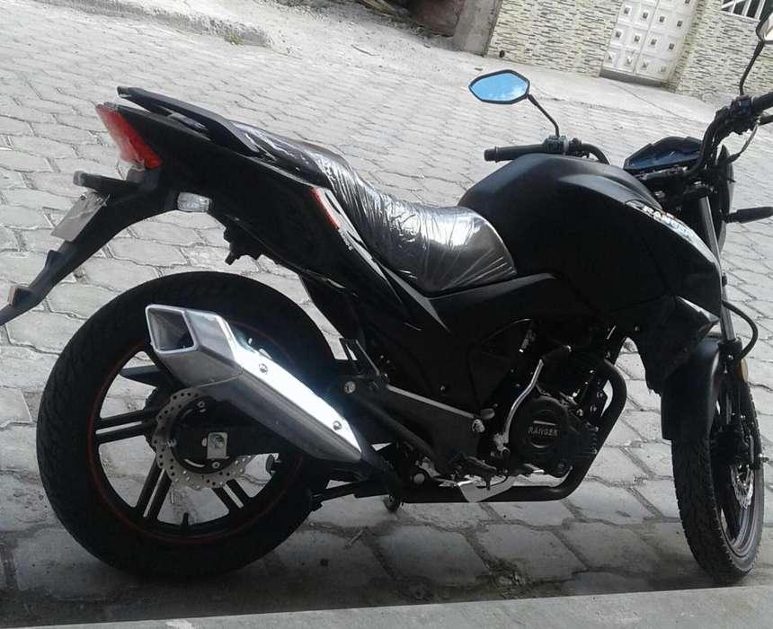 MOTO RANGER COLOR NEGRO CILINDRAJE 200 IV137O