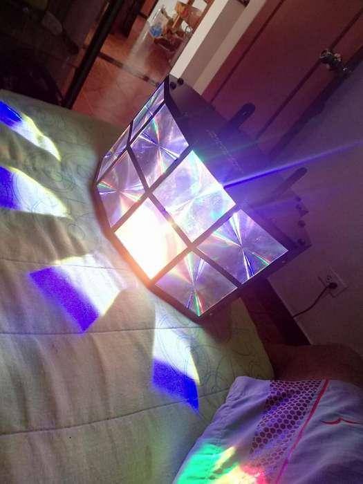 Luz Led 8 Lentes para Discoteca