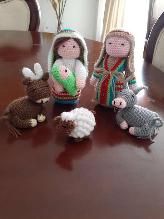 Pesebre en Crochet