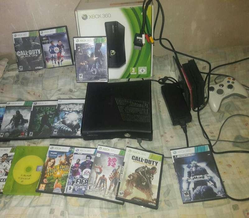 Likido Xbox360 Chipiada con 29 Juegos