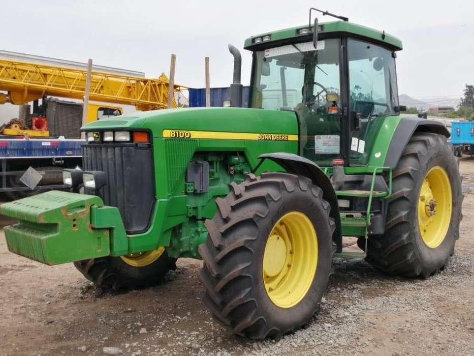 Tractores Agricolas John Deere 8100/300 Hp y John Deere 7800/ 170Hp Importado de Europa