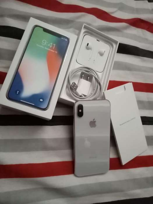 iPhone X 64Gb Flamante