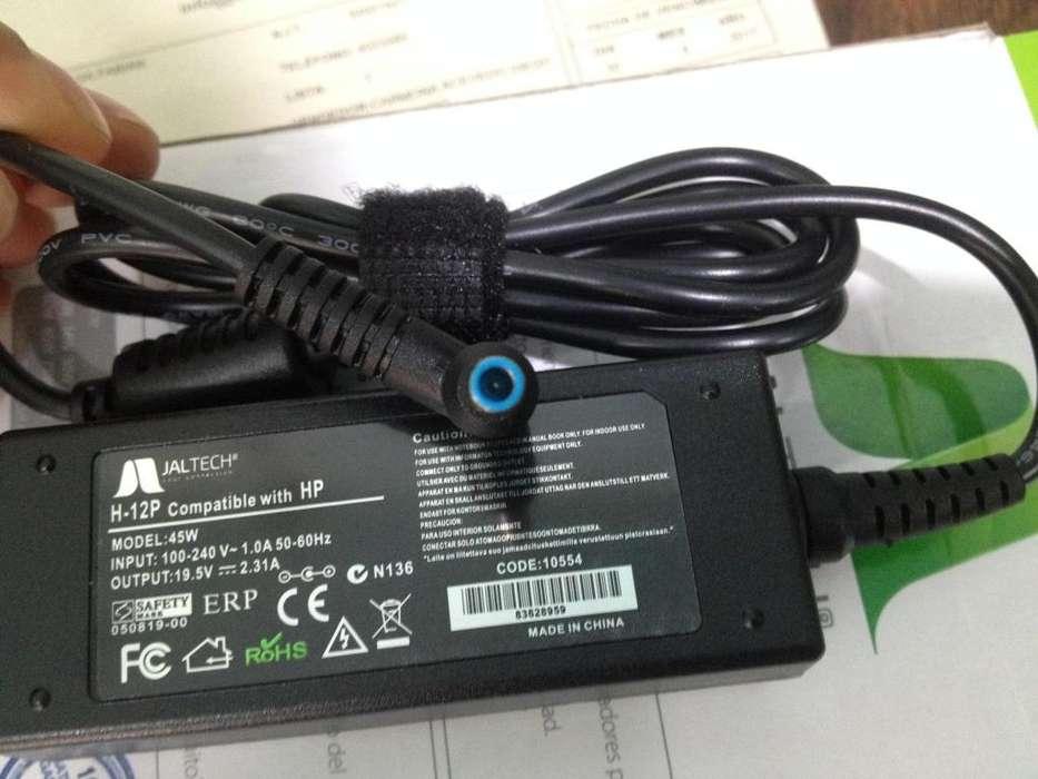 Cargador Ultrabook Hp Punta Azul/aguja 19.5 V 2.31 A 45w nuevo