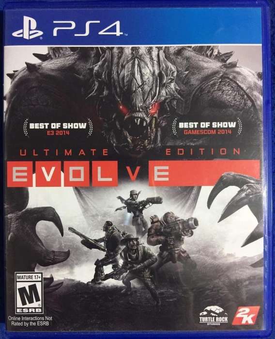 Juego Ps4 Evolve Ultimate Edition