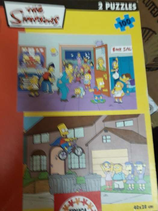 Puzzle Original The Simpsons