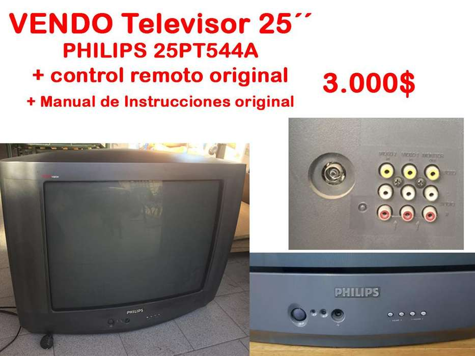 <strong>televisor</strong> 25 PHILIPS