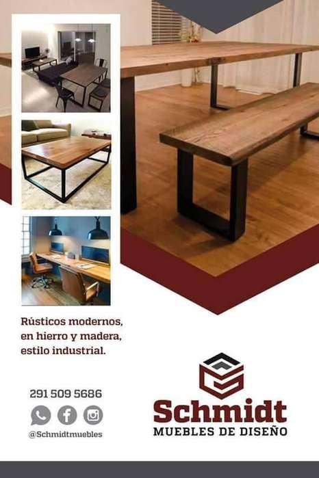 Muebles Hierro y Madera