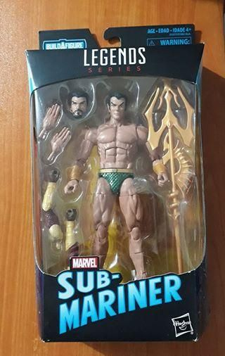 Marvel legends SubMariner Namor Gi joe motu heman dc universe star wars
