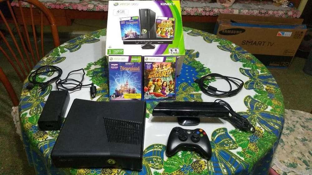 Xbox360kinect Y 2 Juegos. en Caja