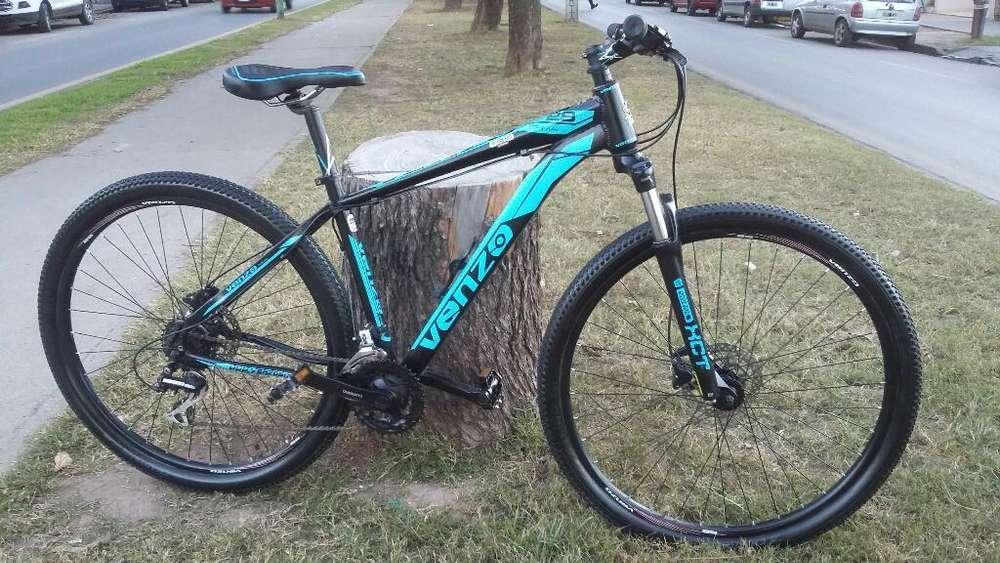 Vendo Bici Venzo R.29 Muy Poco Uso