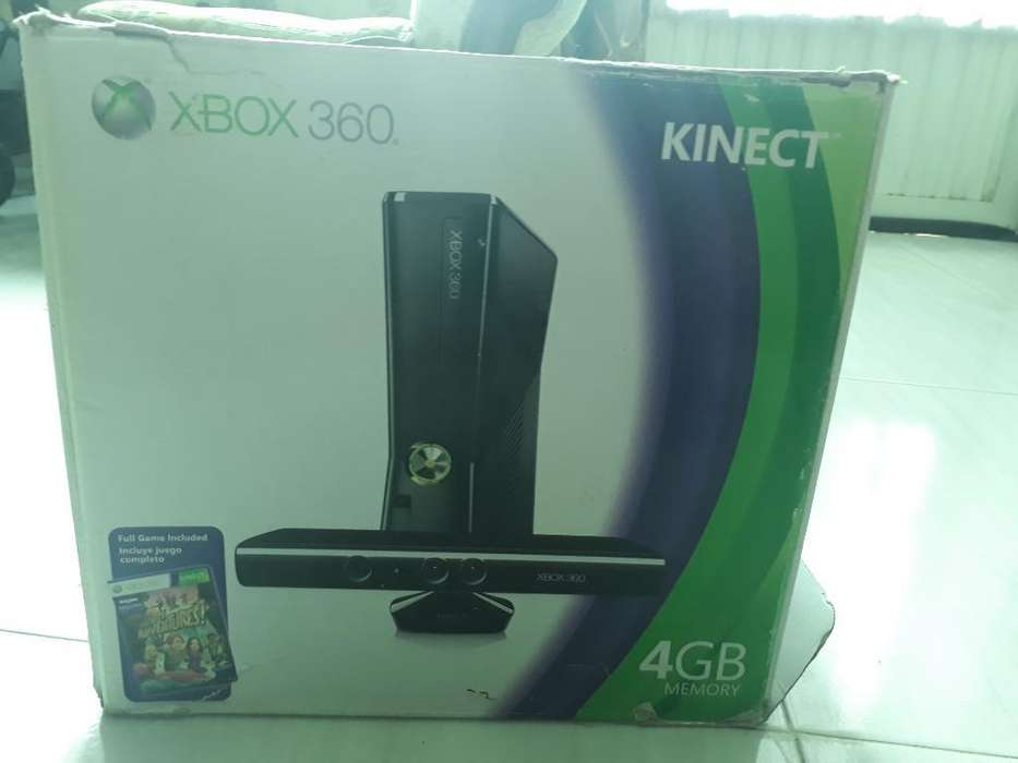 Xbox 360 4gbkinet2controles