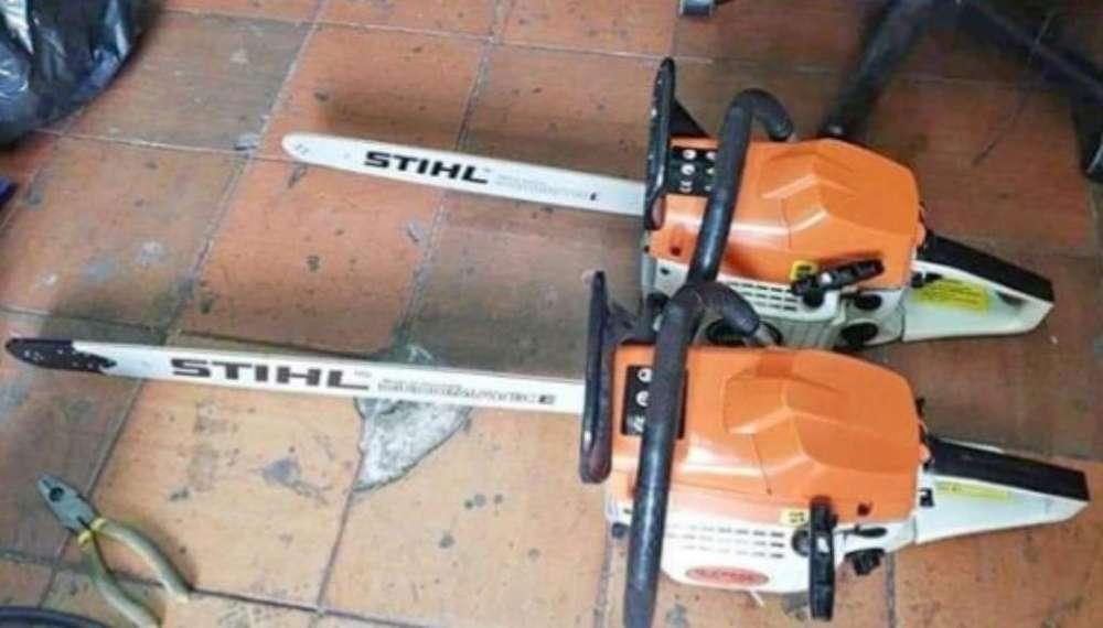 Tenemos Motosierras para Trabajo Pesado y semi pesado marca stihl