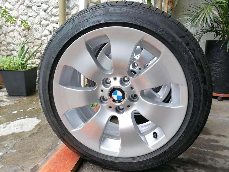 Rines Bmw Originales R17 Con Llantas Bridgestone 225/45/17