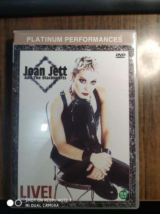 Dvd Joan Jett Live Original