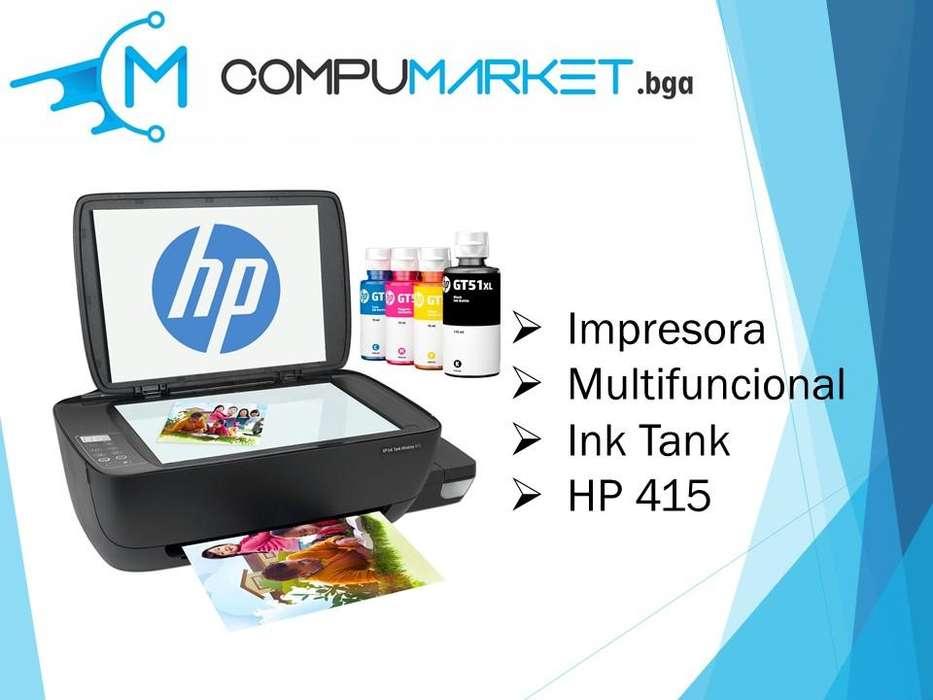 Impresora HP Multifuncional Ink Tank 415 nuevo y facturado