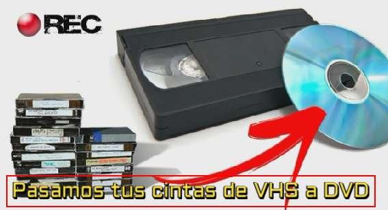 PASAMOS TUS RECUERDOS DE VHS A DVD