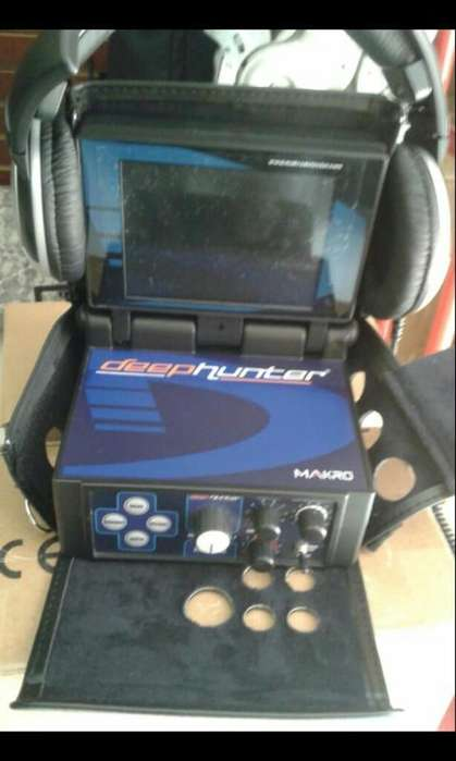 Detector de Metales Deep Hunter 3d Nokta