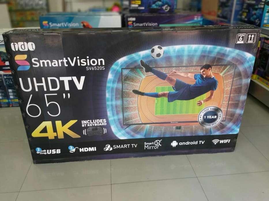 <strong>televisor</strong> Smartv Marca Smartvision 65 ''