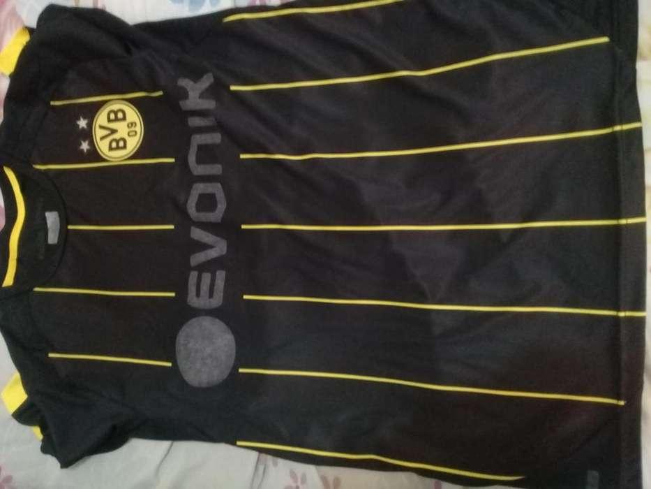 Camiseta alternativa borusia dormunt usada exelente M