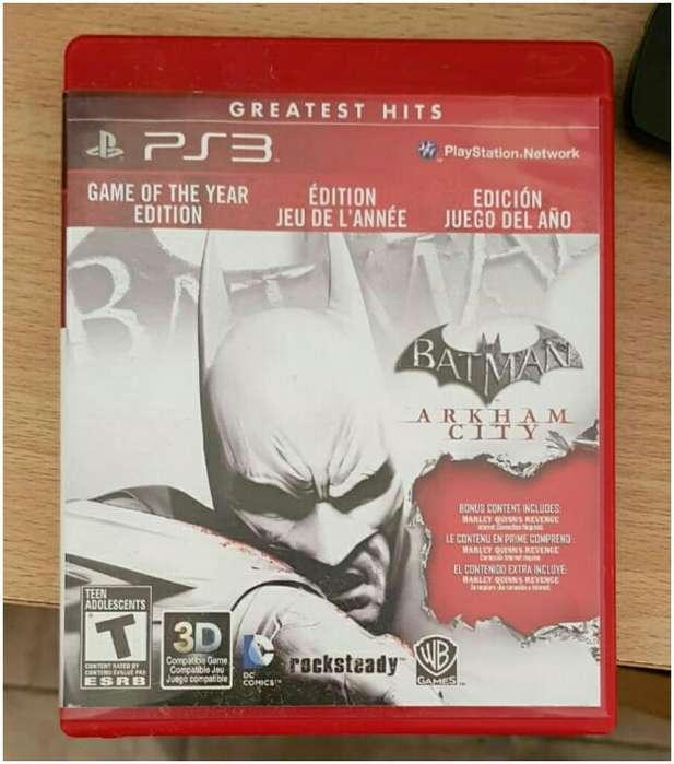 Juego Ps3!! Batman Arkham City
