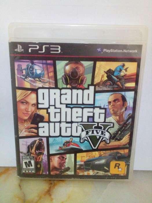 GTA V Grand thef auto 5 Play Station 3 PS3 Juego