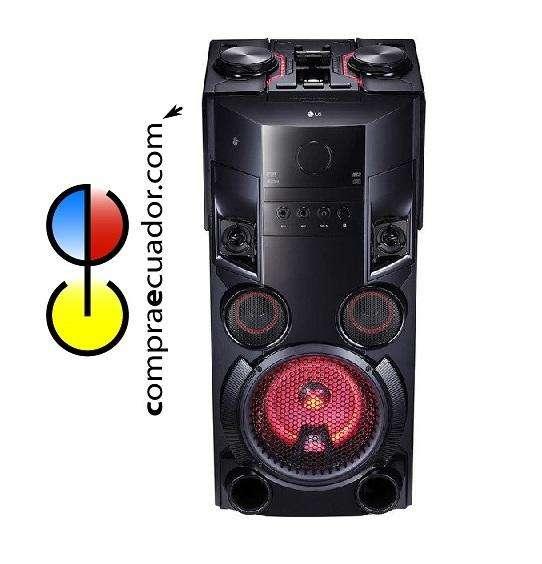 LG Mini Componente Equipo Sonid Parlante 6000w Bluetooth Usb