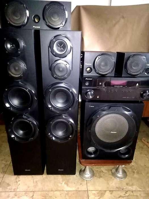 Pioneer Reicever Amplificador