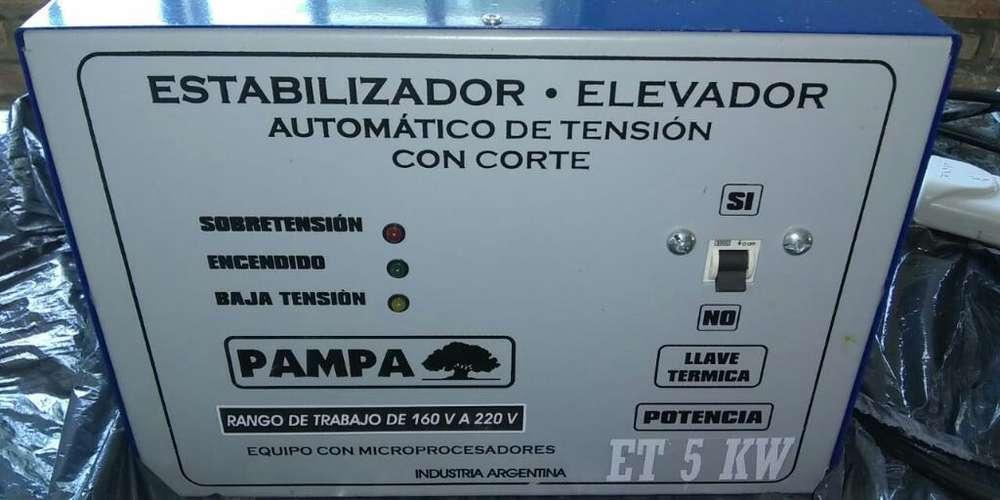 Estabilizador/elevador de Tension