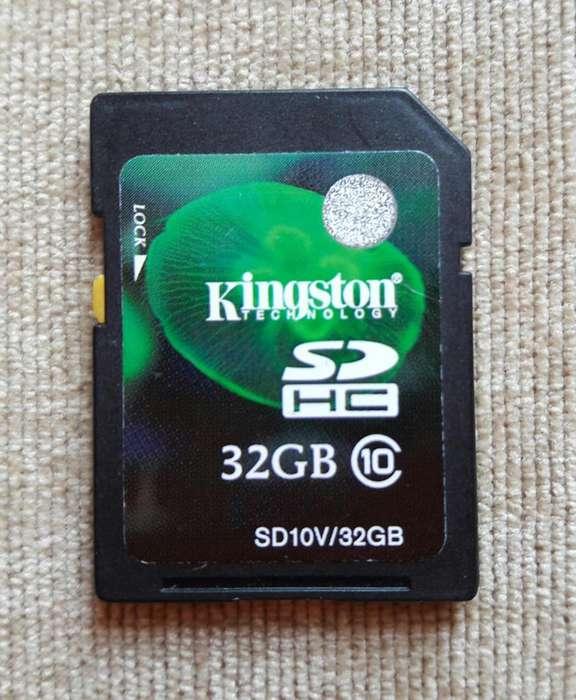 TARJETAS DE MEMORIA DE 4 GB Y 32 GB.