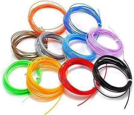 4 Filamentos Plasticos Pla Tinta Repuesto Lapiz Impresion 3d