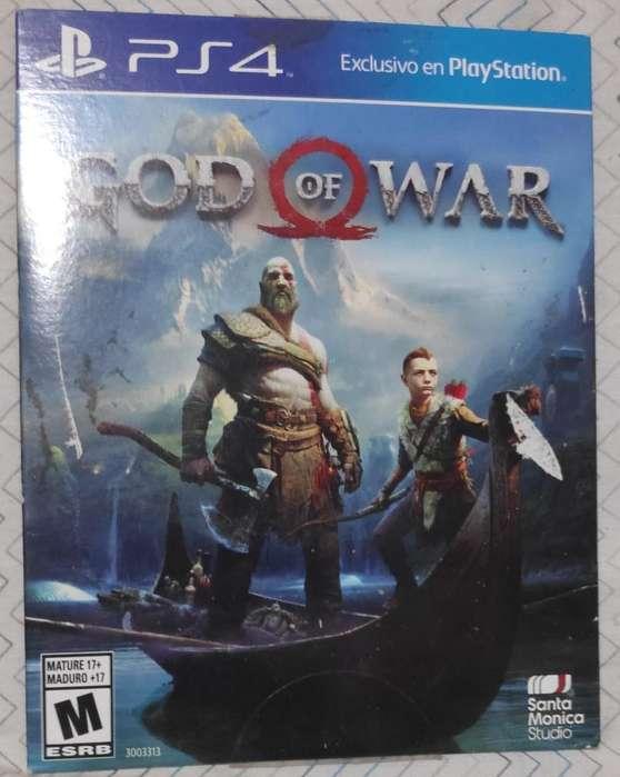 Ps4 Gow Of War 4 (estuche Carton)