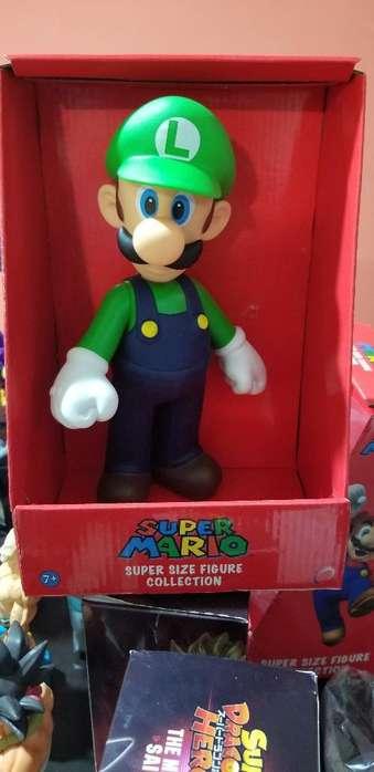 Figura de Coleccion Luiggi Mario Bros