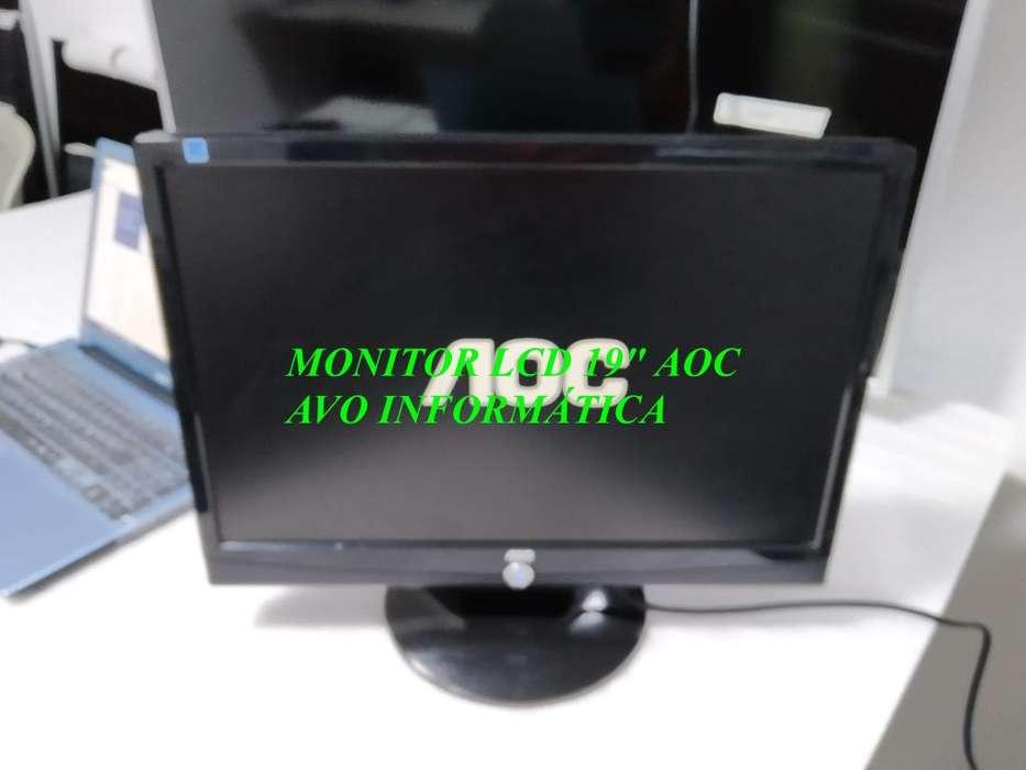 Se Vende Pantalla Monitor Lcd 19 Usado
