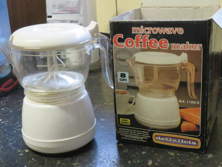 cafetera para <strong>microondas</strong>