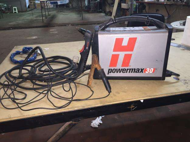 plasma hypertherm powermax 30