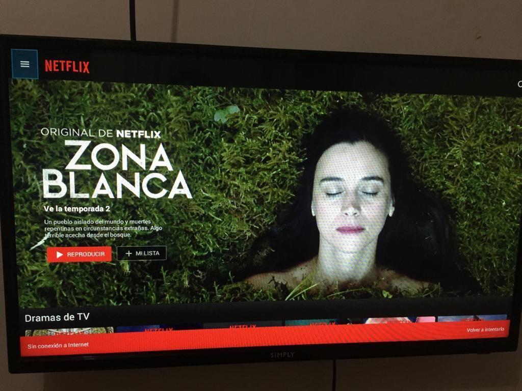 TV DE 32 PULGADAS SMARTV MARCA SIMPLY