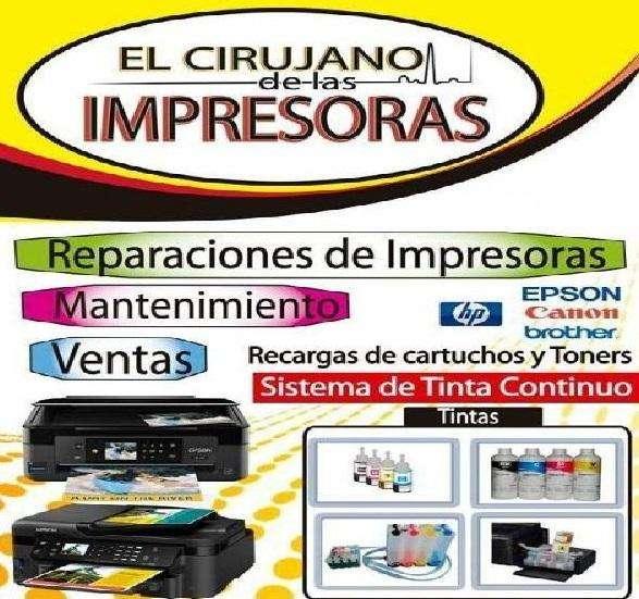 SERVICIO TECNICO DE IMPRESORAS 24/7