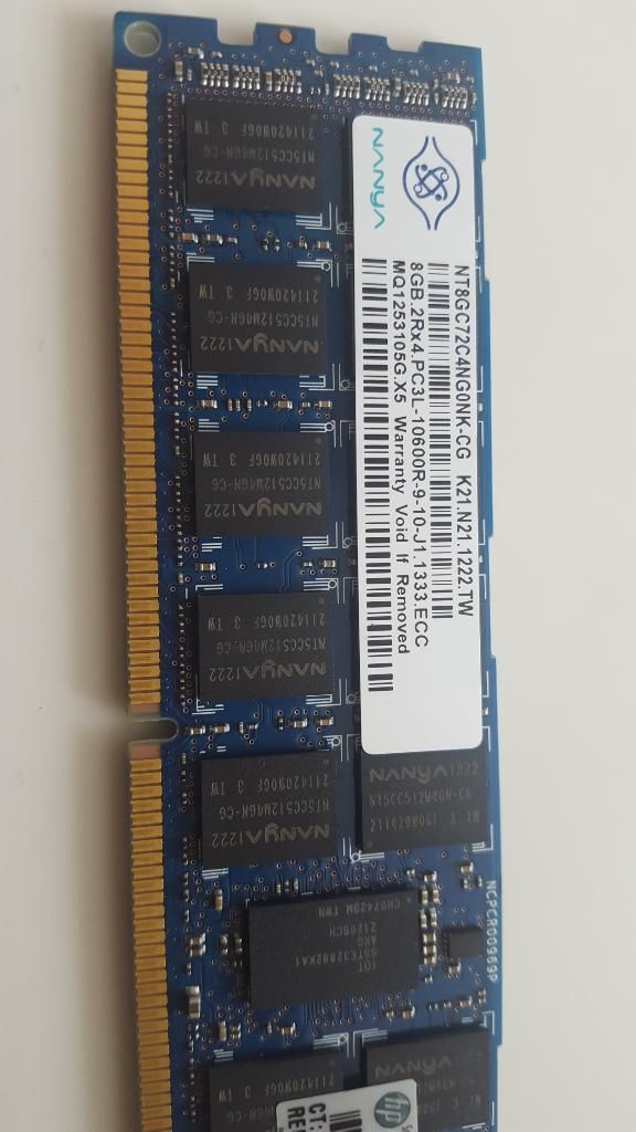 4 Memoria Ram Servidor 8 Gb  32 Gb
