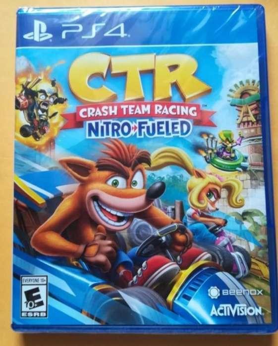 Crash Racing Ps4 Sellado