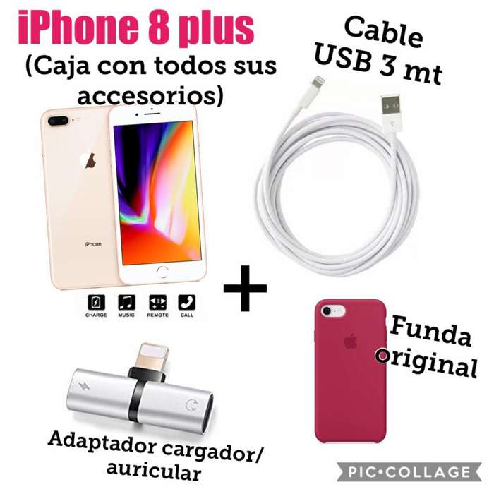 iPhone 8 Plus mas accesorios