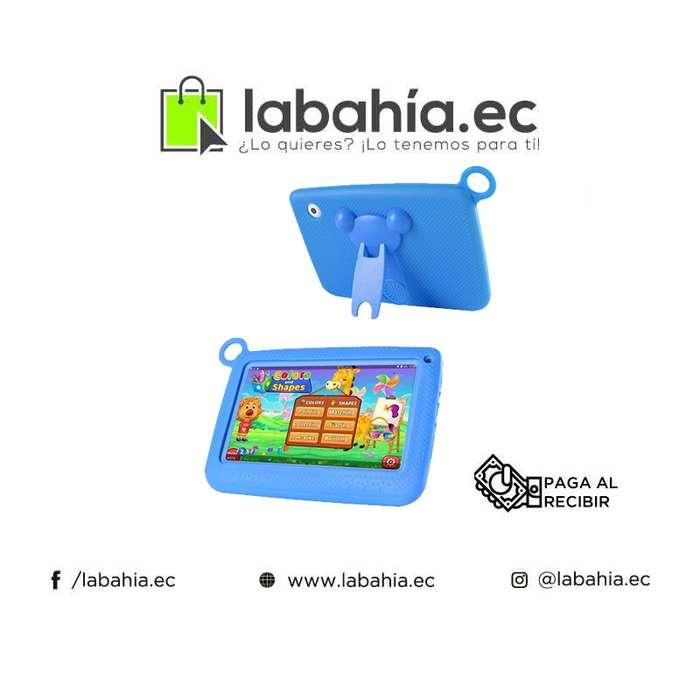 Tablet resistente a golpes para niños de 7 pulgadas con camara