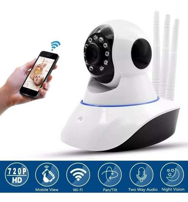 Cámara Seguridad Ip 3ant Robótica 360 Wifi Visión Nocturna