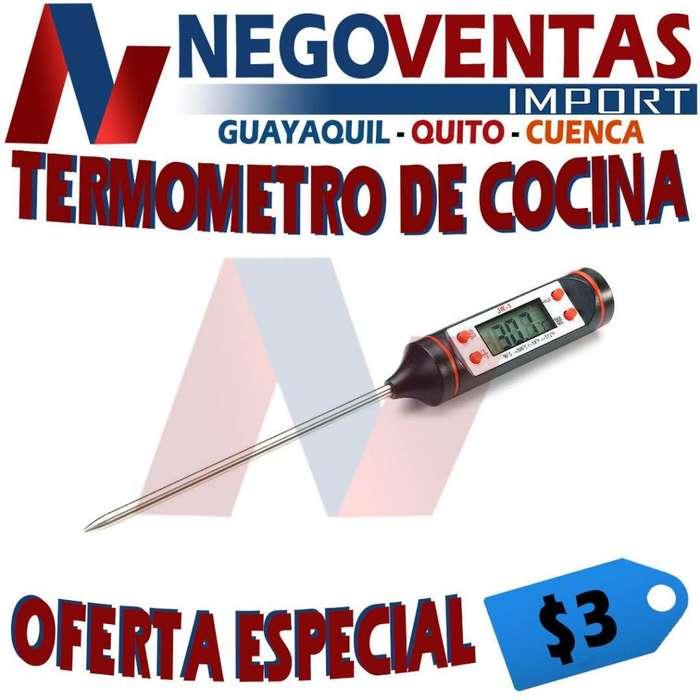 TERMÓMETRO DE COCINA - MEDIDOR DE ALIMENTOS