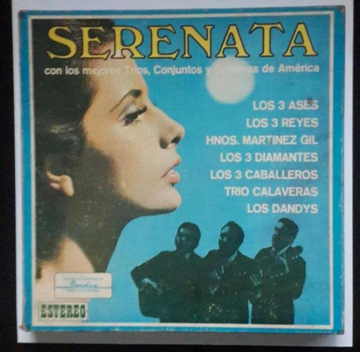 COLECCIÓN DE DISCOS LP SERENATA