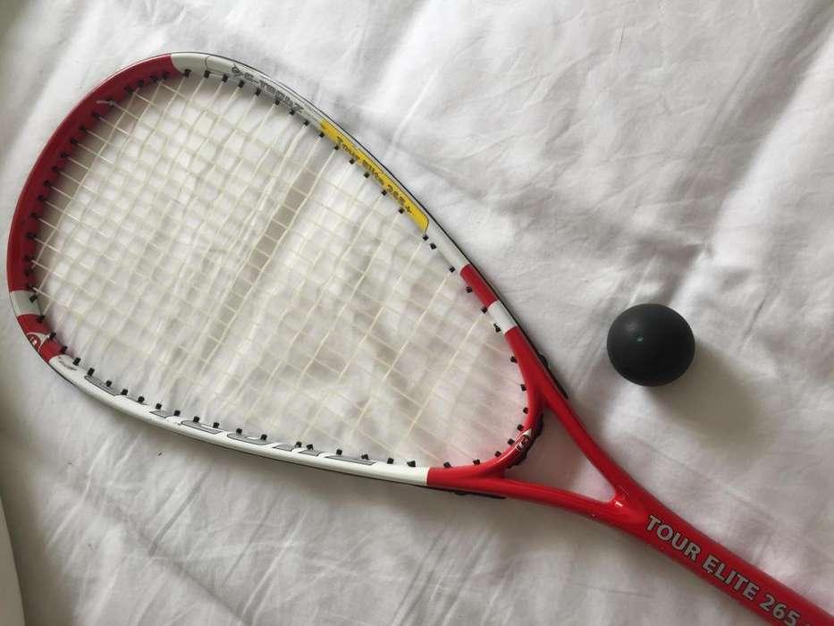 Raqueta squash G TECHZ