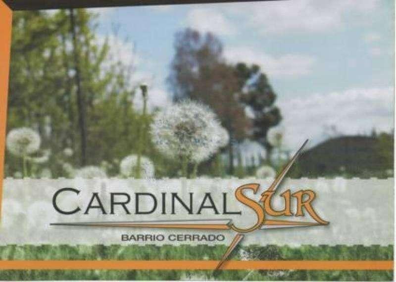 Lote en venta B Cardinal Sur