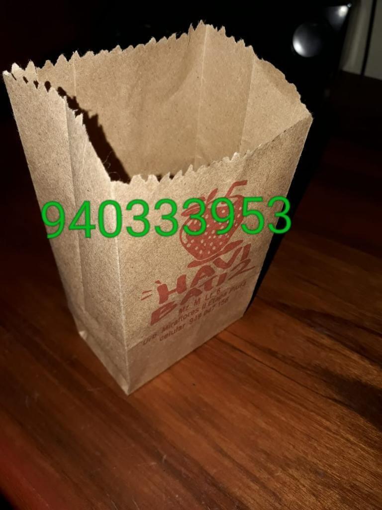 027837d52 Bolsas para Churros Personalizados - Lima