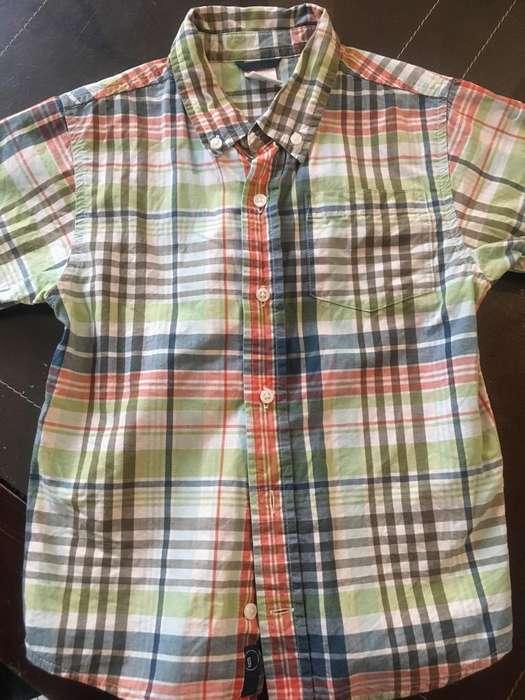 Camisa Gymboree Talla 5