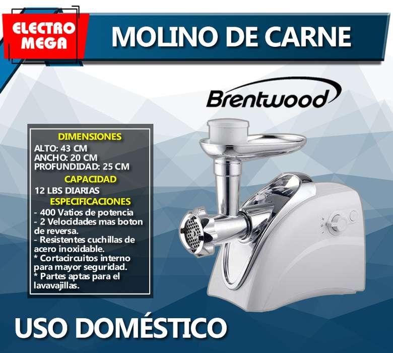 MOLINO DE CARNE ELECTRICO 400W POTENCIA